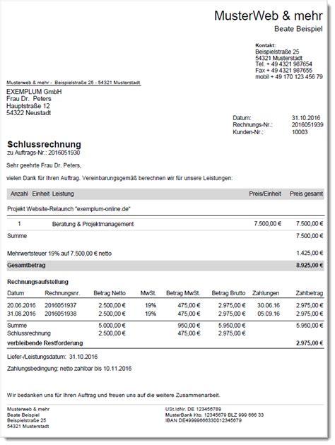 Rechnung Schweiz Steuer rechnungen de rechnungen im deutschen umsatzsteuer recht