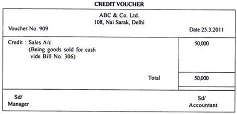 Debit Credit Voucher Format In Word Top 8 Types Of Documents Used In Accounting