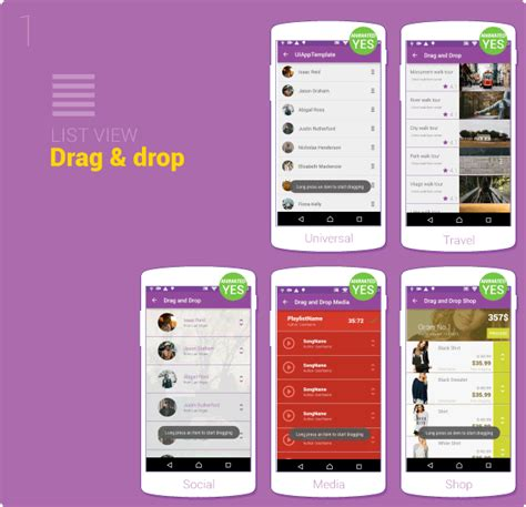 android app ui templates material design ui android template app by creativeform