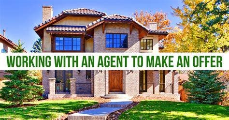 making an offer to buy a house buying a house working with a real estate agent to make an offer trending home news