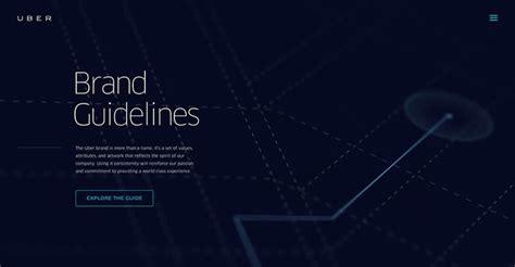 uber pattern library объёмное меню с прокруткой и активными объектами меню