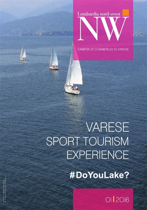 di commercio varese lombardia nord ovest 1 2016 varese sport tourism