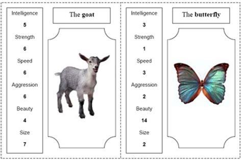 printable animal top trumps animal top trumps great lesson plan for animal
