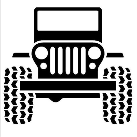 jeep lettering decal jeep wall decal by ozavinylgraphics on etsy 28 00