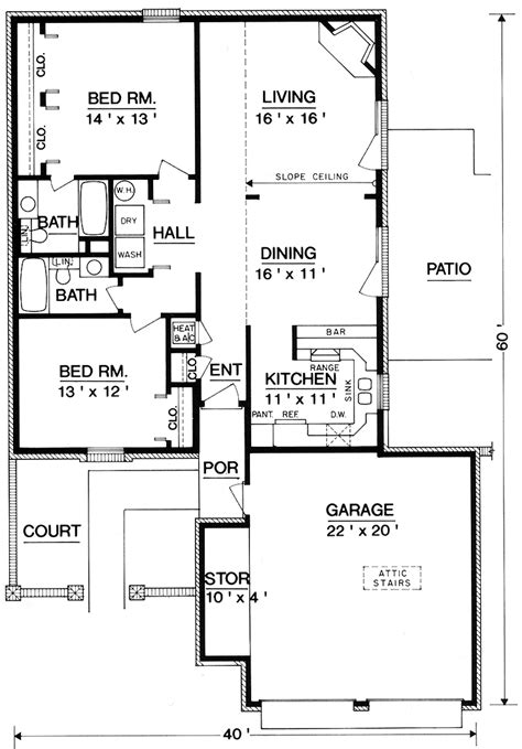 1200 sq ft house plan 1200 square foot house plans two story studio design