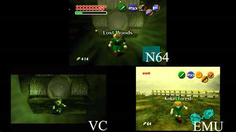 wii vs n64 graphics system loading times vc vs n64 vs emulator