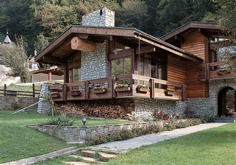 moderner chalet stil the modern house in the chalet style ideas for design