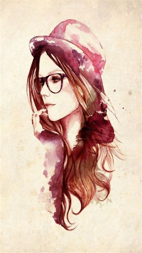 mobile9 tattoo girl wallpaper a lady beautifully painted with watercolor tap to see