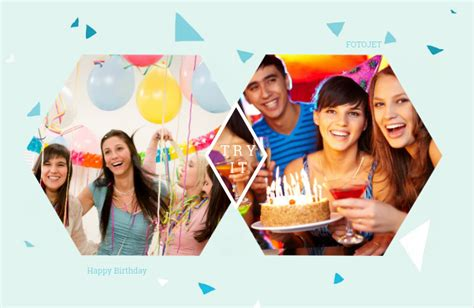 photo collage ideas numerous birthday collage ideas inspired by fotojet to