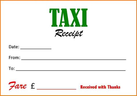 taxi cab receipt template taxi bill studio design gallery best design