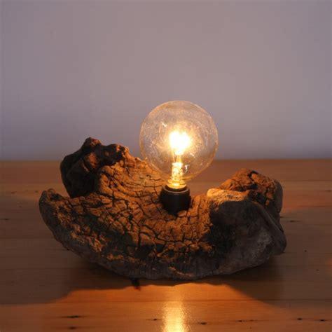 Simple Wooden Desk Lamp  Id Lights