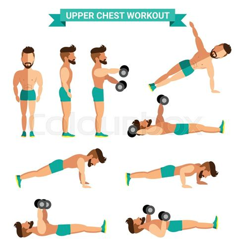 exercise for chest at home www pixshark images