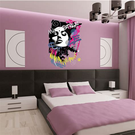 stickers muraux chambre ado gar輟n enchanteur stickers pour chambre ado et exceptional