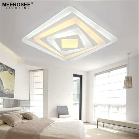 luminaire plafond chambre aliexpress com acheter carr 233 acrylique led plafond
