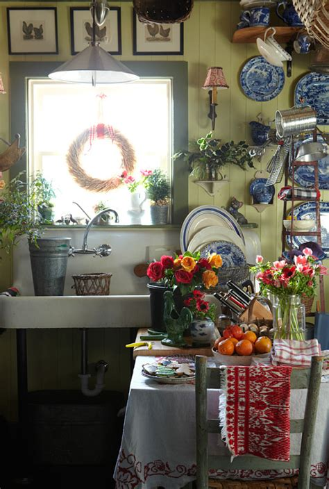 country farm kitchen decor colorful kitchen curtains home design and decor reviews
