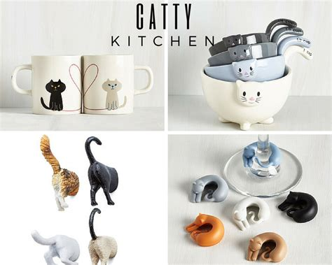 Cat Kitchen Accessories by Hollee Daze Subtle Ways To Introduce Cats Into Your Decor