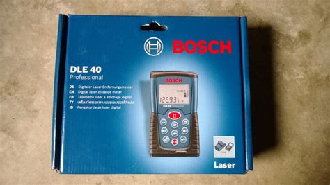 Laser Digital Bosch Dle 40 jual meteran laser digital bosch dle 40 professional tech