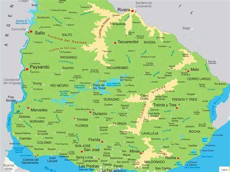 imagenes satelital del uruguay mapa de uruguay descarga los mapas de uruguay
