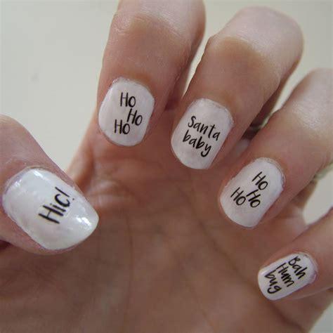 Nail Transfers nail transfers slogans by hoobynoo