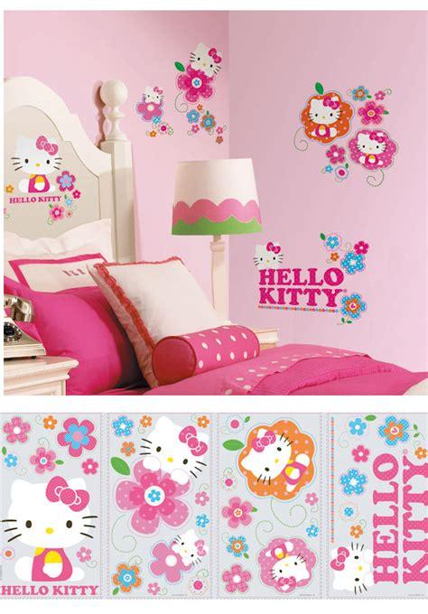 Hello Kitty Wall Decor Stickers hello kitty wall decor stickers joshua and tammy
