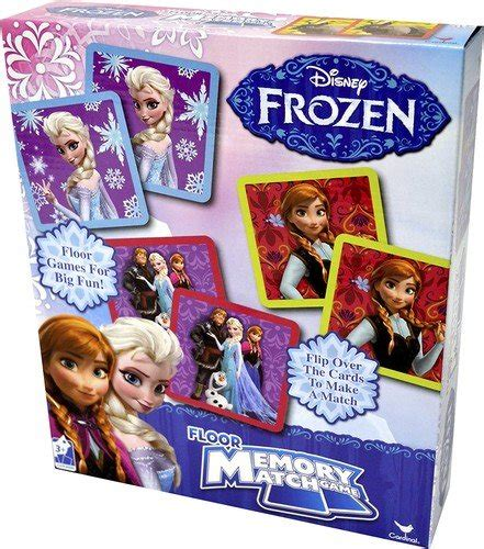 Disney Floor Memory - disney frozen floor memory match 54 pieces styles will