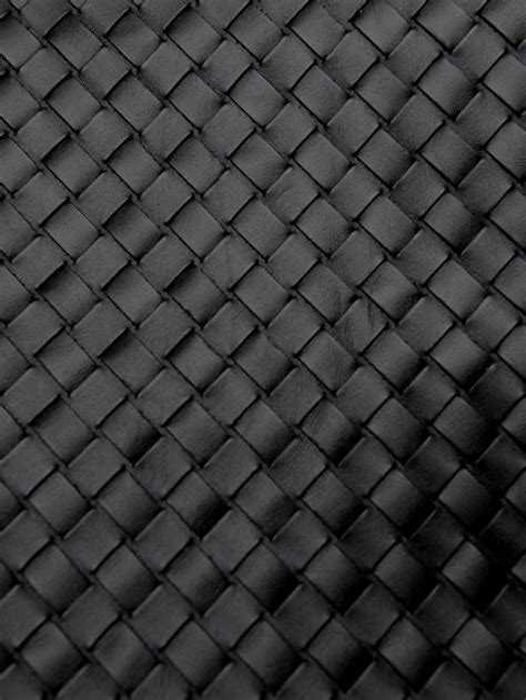 grey leather pattern background 2 black leather weave