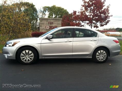 2008 honda accord lx sedan in alabaster silver metallic