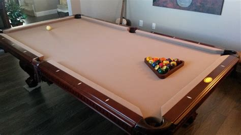 american heritage mahogany 8ft pool table westchase fl