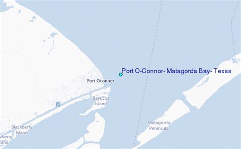 port o connor texas map port o connor matagorda bay texas tide station location guide
