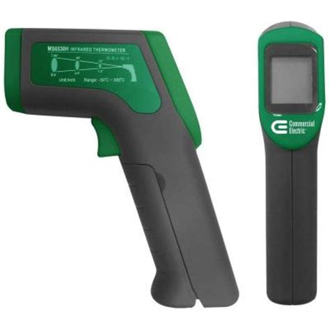 Termometer Electric commercial electric infrared thermometer ms6530h the home depot