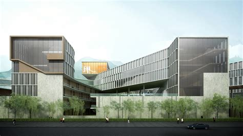 college architecture design of hong kong shenzhen cus master