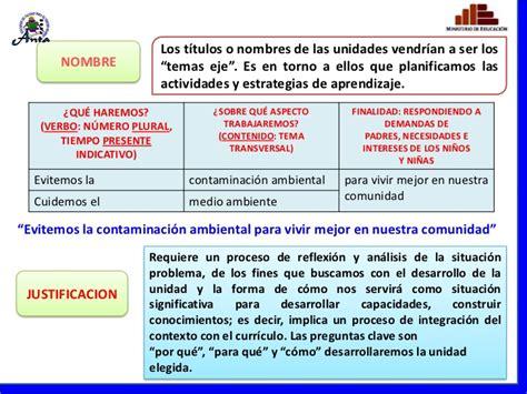 unidades y sesiones de aprendizaje 2o16 diversificacion y unidades de aprendizaje ugel anta 2011