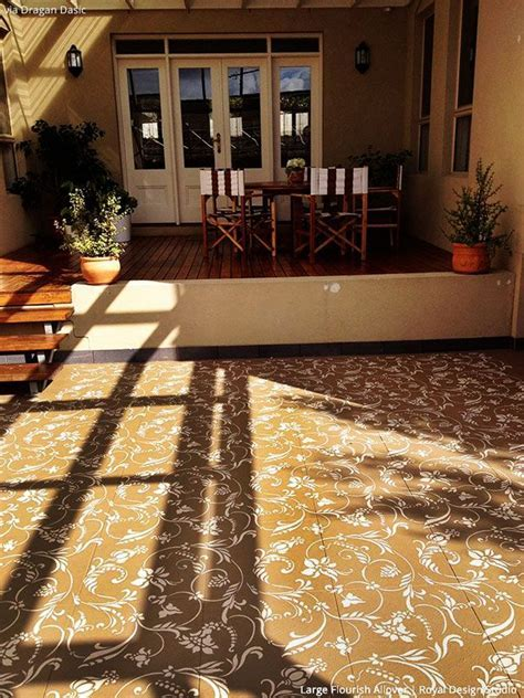 17 Best images about Stenciled & Painted Floors on
