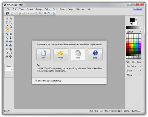 doodle edit picture logiciel gratuit pour dessiner nps image editor