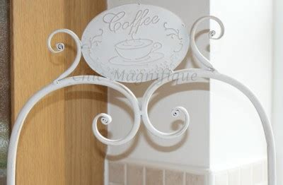 Mukena Shabby Chic Motif 2 shabby chic antique white 2 tier metal cake stand with coffee motif ebay