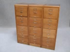 Large File Cabinet by Large Oak Filing Cabinets Antiques Atlas