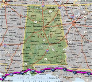 i 10 alabama map