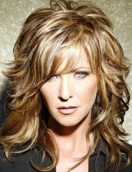 20 best short shag haircut ideas designs hairstyles 20 collection of curly long hairstyles with bangs