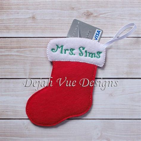 Stocking Gift Card Holder - 413 best images about machine embroidery in the hoop on pinterest 4x4 hooded