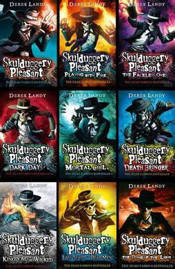 Pleasant Books In Easy World Of Today And Tomorrow Stage 4 skulduggery pleasant