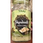 Sharwood S Thai Curry Cooking Sauce 415gr sharwood s green curry with citrus herbs and green chilies thai cooking sauce calories