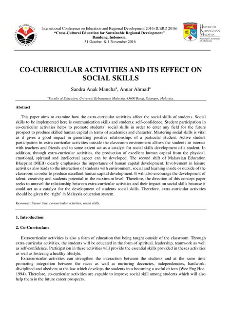 research paper on co curricular activities research paper on co curricular activities 28 images