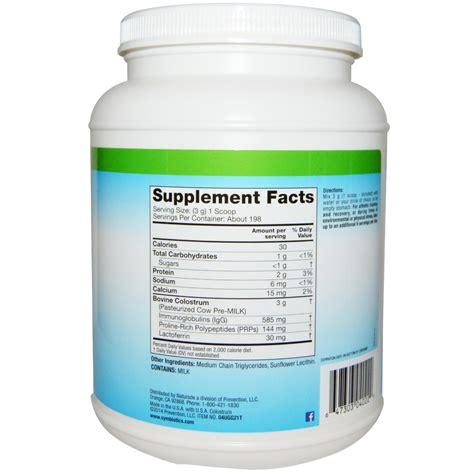 Suplemen Colostrum symbiotics colostrum plus powder 21 oz 595 g iherb