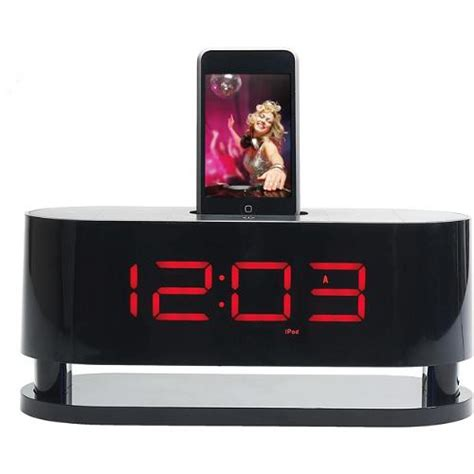 coby csmp162 dual alarm clock radio for ipod csmp162 b h photo