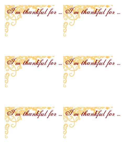 thankful template gratitude