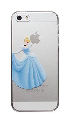 Iphone 5 5s Se Disney Princess In Girly Hybrid disney princess cinderella holding apple logo clear