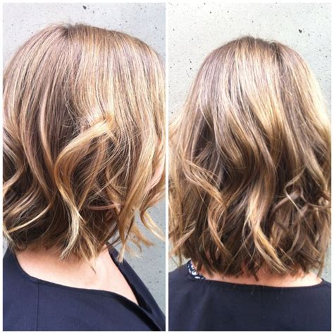 Short Bob Curls With Curling Iron | bob short hair waves flat iron curls look good