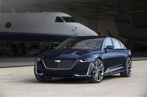 cadillac escala sedan visualized in pictures gm authority
