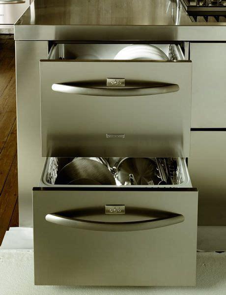kitchenaid drawer style dishwasher drawer dishwashers make so much sense to me plus kenmore