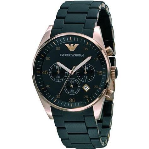 armani montre bracelet homme ar5905 quartz analogique acier noir achat vente